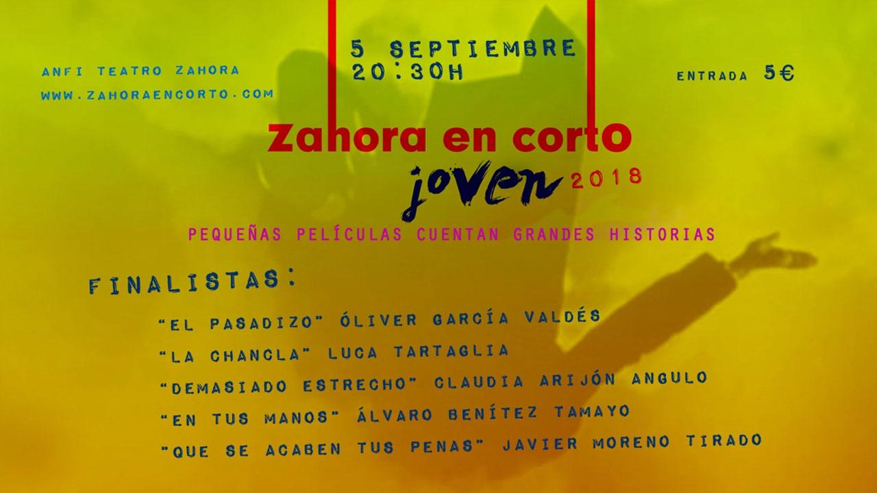 En este momento estás viendo ¡¡¡Finalistas Jóvenes Zahora en Corto 2018!!!